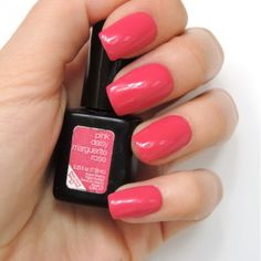Pretty in Pink! - Pink Daisy Gel Nail Color by SensatioNail
