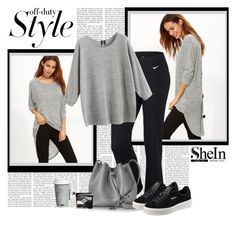 """""""Shein"""" by polybaby ❤ liked on Polyvore featuring NIKE, Lancaster, Puma, Christian Dior, Givenchy and Fitz & Floyd"""