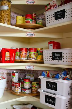 Achieving Creative Order: Organized Pantry