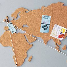 World Map Cork Pinboard Bundle - Are you interested in our Cork World Map Noticeboard? With our large world map pin board corkboard you need look no further. Cork World Map, Cork Map, World Map Decor, World Map Poster, World Map Wall, World Map Pin Board, World Map With Pins, Diy Cork Board, Cork Board Walls