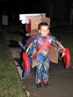 Transforming Optimus Prime Costume                                                                                                                                                                                 More