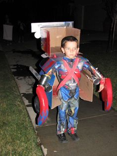 Transforming Optimus Prime Costume                                                                                                                                                                                 More