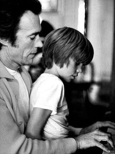 Clint and Kyle Eastwood