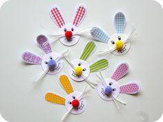 Basteln mit Kindern zu Ostern! Noch mehr Ideen findet Ihr unter www.hallobloggi.de