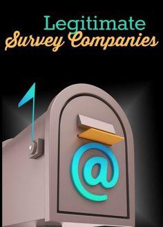 Legitimate survey companies to earn money online!