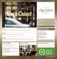 Diseño web Casa Calvet. Community Management y consultoría estratégica para acciones en redes sociales. Blog, Marketing, Socialism, Home, Design Web, Social Networks, Blogging