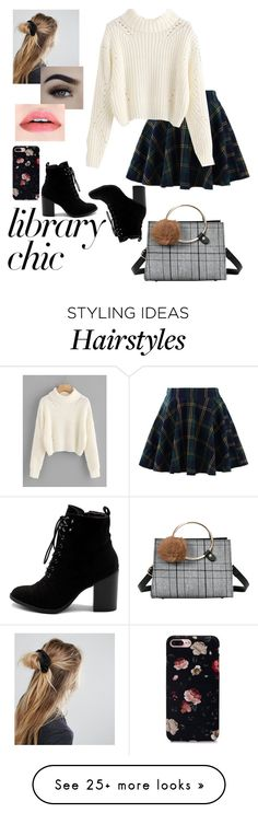 """Library Chic"" by oliviagrace14 on Polyvore featuring Chicwish, ASOS and Ollio"