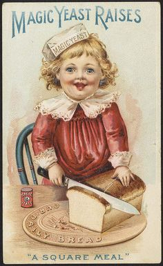 Magic Yeast raises 'a square meal' [front] by Boston Public Library, via Flickr