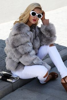 48f60810683 Simplee Vintage Fluffy Coat with Faux Fur Womens Short Fur of Faux Fur  Winter Outerwear Pink Coat 2017 Autumn Shoes for Casual Socks or Evening  Party Coats ...