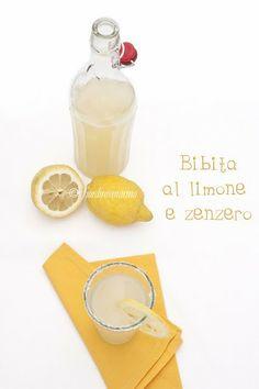 Bibita al limone e zenzero.