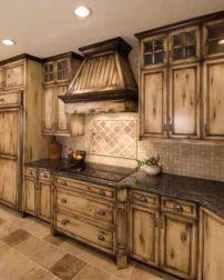Beautiful Farmhouse Style Rustic Kitchen Cabinet Decoration Ideas 37