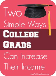 Great post for college grads