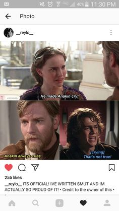 Ani was emotional. Kinda refreshing coming from a male character