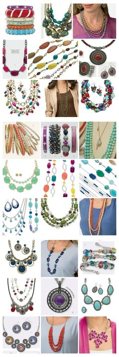 Lordy Lordy look at all the Spring colors!! Want some color too? Contact me to host a girl's night out!  jennsjewelry15@yahoo.com