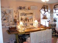 Craft Room Tour: Creating Myself: Where all the art happens.... 2011