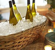 perfect for summer entertaining.  love pottery barn!