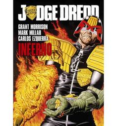 Ex-Judge Grice was sent to the penal colony on Titan for attempting to stop democratic reform in Mega-City One. Driven to insanity and aching for revenge on Judge Dredd who he blames for his downfall, Grice and an army of renegade prisoners have taken control and are preparing to unleash hell on the 'Big Meg' with the help of a deadly virus!