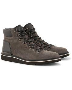 5fc28fc050547 Hogan Nubuck Hiking Boot Grey Suede