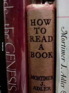 Scroll2Lol.com - How to read a book