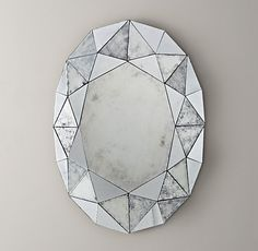 mirrored facets