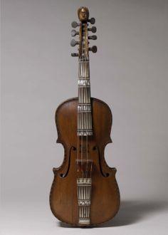 Hardanger Fiddle. Isak Nielsen (Skaar) Botnen (Norwegian, 1669–1759). Date:     1756