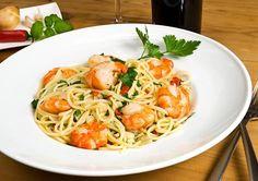 I love Shrimp !!! Broiled Shrimp Scampi Recipe #broiled #shrimp #scampi #recipe