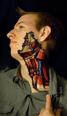 Danny Quirk's Body Art_anatomical reproductions made of Sharpie and latex Anatomy Art, Human Anatomy, Brain Anatomy, Yoga Anatomy, Art Tumblr, Piercings, Body Art Photography, Medical Photography, Pin Up