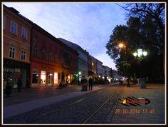 Kassa- Kosice by night Night