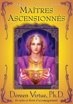 DOREEN VIRTUE - Cartes divinatoires maîtres ascensionnés - Ésotérisme - LIVRES - Renaud-Bray.com - Ma librairie coup de coeur