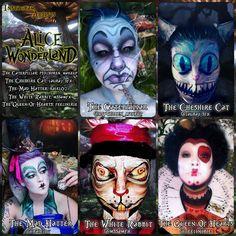 Alice In Wonderland Collaboration by psychoren
