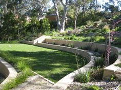 landscaping for sloped yards - Google Search