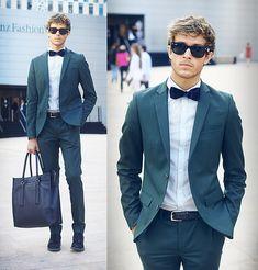 Mercedes benz Fashion Week - Day 3 (by Adam Gallagher) http://lookbook.nu/look/3997842-Mercedes-benz-Fashion-Week-Day-3