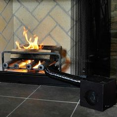 Mr Flame Fireplace Heater Blower, Use your fireplace to help heat ...