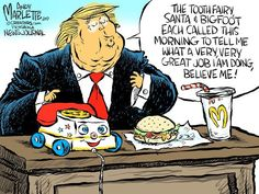 Editorial cartoonists from around the nation and world respond to current events. Featuring cartoons by Andy Marlette, Daryl Cagle, Jerry Holbert, Matt Davies, and others. Political Satire, Political Cartoons, Political Quotes, Trump Cartoons, Religion, Man Down, Tooth Fairy, We The People, Donald Trump