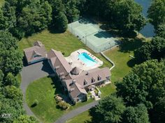 340 Middlesex Road in Darien, CT.  Enjoy the view from above of this Magnificent 4 1/2 acre country estate beautifully landscaped featureing a pool and tennis courts.  Represented by Katie Vance and Leslie Boris.  http://www.halstead.com/98523383