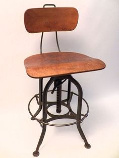 Toledo Drafting Chair Drafting chair Vintage industrial and