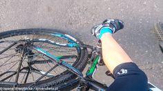 Szczytem mojej osobistej porażki jest to gdy inni rowerzyści w lesie mnie wyprzedzają. Znaczy to nie tylko mi się wydaje że mam słabą kondycję ja ją mam!