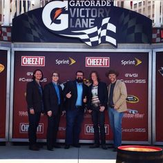 National Anthem, Watkins Glen NASCAR track. They did the National Anthem so well!!! I've never heard it so well done. Good job guys!!<3 Home Free Vocal Band, Country Bands, Five Guys, National Anthem, Nascar Racing, Good Job, Music Bands, Singing, Challenges