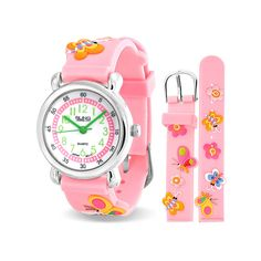 bling jewelry bling jewelry Pink Girl Princess Butterfly Kids Watch Stainless Steel Back Butterfly Kids, Butterfly Jewelry, Pink Butterfly, Butterfly Design, Girls Wrist Watch, Rubber Watches, Stainless Steel Rings, Bling Jewelry, Girls Jewelry