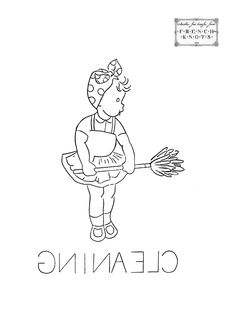 Little Girl DOW Embroidery Transfer Patterns