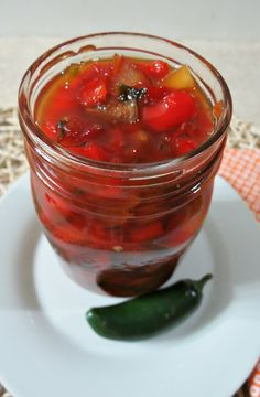 Quick and easy Pepper Jelly, not to hot, it's just right!!