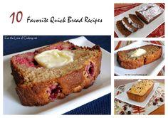 Parade's Community Table ~ 10 Favorite Quick Bread Recipes