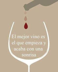 El mejor vino...