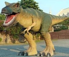 5. Life Size Sculpture Of T-Rex - Retail Price: $32,734.87