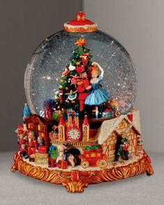 Image detail for -Nutcracker Suite Snow Globe - Neiman Marcus