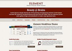 """If you're looking for a theme that looks great right out of the box, but also allows for quick and easy fine-tuning, Element delivers! Built on the latest and greatest version of our new """"Smpl"""" framework, you can customize and control your site with more precision than ever."""
