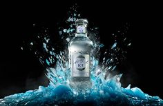 ASTRO IC by Astro IC , via Behance Creative Advertising, Advertising Design, Beauty Dish, Vodka Bottle, Water Bottle, Splash Photography, Absolut Vodka, Social Media Design, Commercial Photography