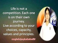 Brahma Kumari Sister Shivani is one of the most respected and versatile spiritual, motivational and inspirational speaker.Here you can see Sister Shivani inspirational quotes, success quotes, positive quotes etc. Gita Quotes, Soul Quotes, Hurt Quotes, Happy Quotes, Woman Quotes, Wisdom Quotes, Hindi Quotes, Qoutes, Jesus Quotes