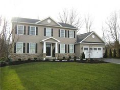 Quality Built Home By Stonewood Builders! 4 BR, 2.5 bath center entrance colonial, Lg. eat-in kitchen, granite counter tops, plenty of cabinets, stainless steel dishwasher, microwave, s/g drs to rear yard, living room, formal dining,1st floor laundry & gas fireplace, 1st. floor master bedroom / bath w/double basin, 1st. floor laundry, 12 course  basement, drywalled 2 car garage w/ door openers, large back yard, exterior dormers, stacked stone & front porch add to charm of the home. Great…