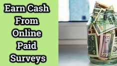 Earn Cash From Online Paid Surveys Make Money Online, How To Make Money, Paid Surveys, Be Your Own Boss, Watch, Videos, Clock, Bracelet Watch, Clocks